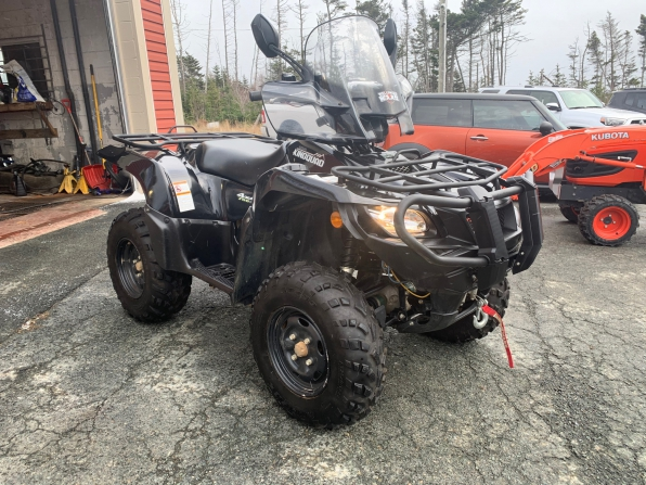 2018 SUZUKI KING QUAD 500 AXI LOADED 630 K