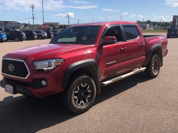 2018 TOYOTA TACOMA DOUBLE CAB TRD OFF ROAD PACKAGE