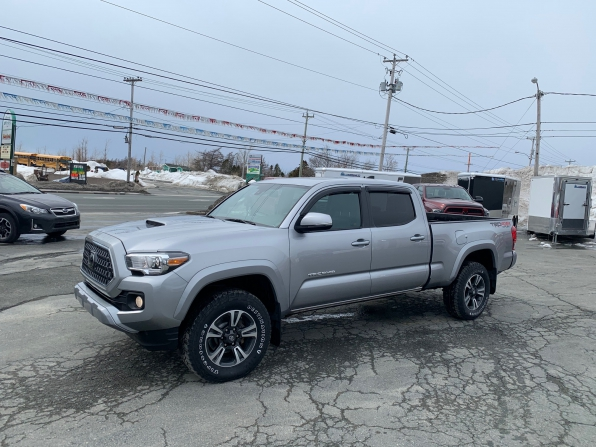 2018 TOYOTA TACOMA TRD UPGRADE PCG SPORT DOUBLE CAB 4WD