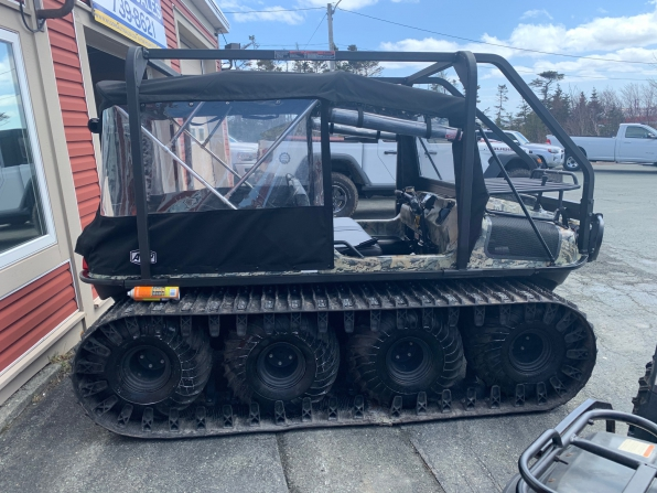 2019 ARGO HUNTMASTER W/TRACKS/ROPS/HEATED/ WS/CANOPY/WINCH WIPER  Photo 1