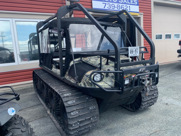 2019 ARGO HUNTMASTER W/TRACKS/ROPS/HEATED/ WS/CANOPY/WINCH WIPER  Photo 3