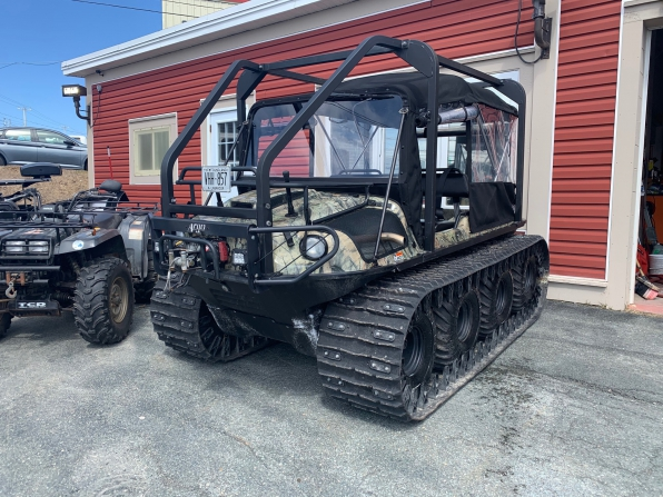 2019 ARGO HUNTMASTER W/TRACKS/ROPS/HEATED/ WS/CANOPY/WINCH WIPER
