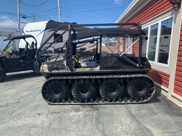 2019 ARGO HUNTMASTER W/TRACKS/ROPS/HEATED/ WS/CANOPY/WINCH WIPER  Photo 4