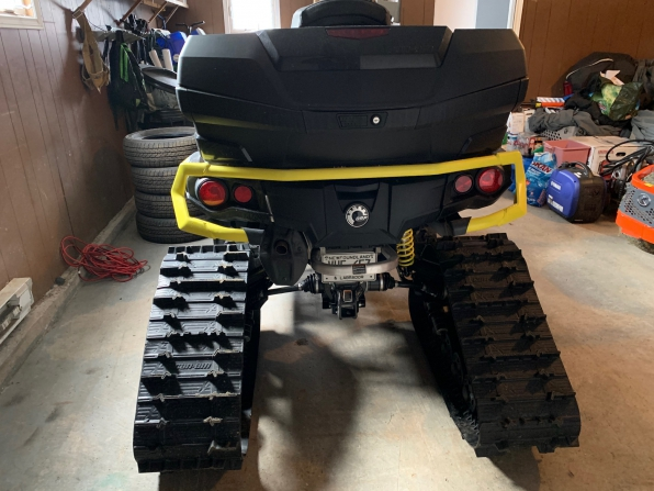2019 CAN AM OUTLANDER MAX XTP 1000 W/ TRACKS  MSRP $29000 Photo 2