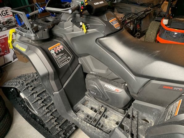 2019 CAN AM OUTLANDER MAX XTP 1000 W/ TRACKS  MSRP $29000 Photo 3