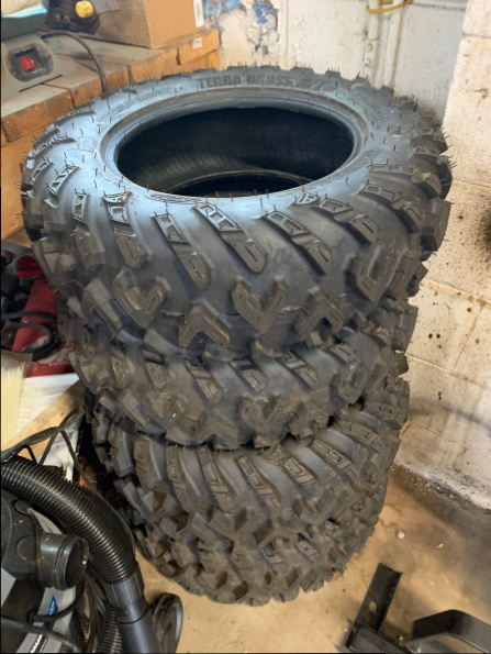 2019 CAN AM STOCK 14 INCH TIRES