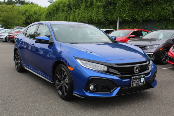 2019 HONDA CIVIC SPORT TOURING TURBO