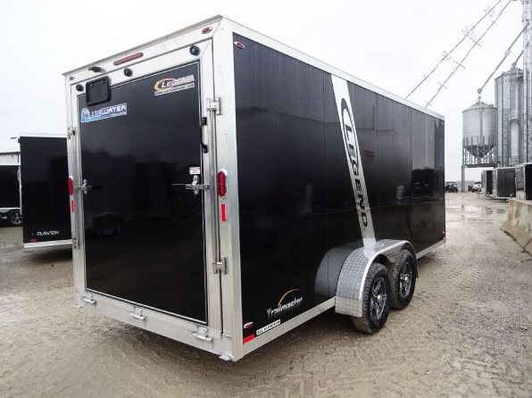 2019 LEGEND TRAILMASTER 7 X 23 ENCLOSED SLED TRAILER  Photo 6