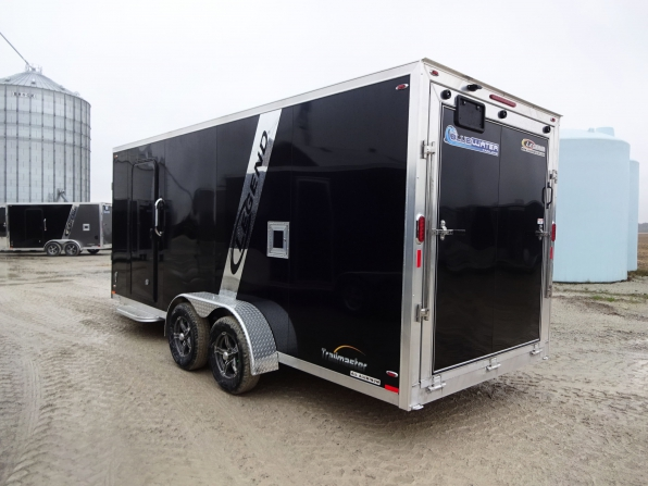 2019 LEGEND TRAILMASTER 7 X 23 ENCLOSED SLED TRAILER  Photo 3