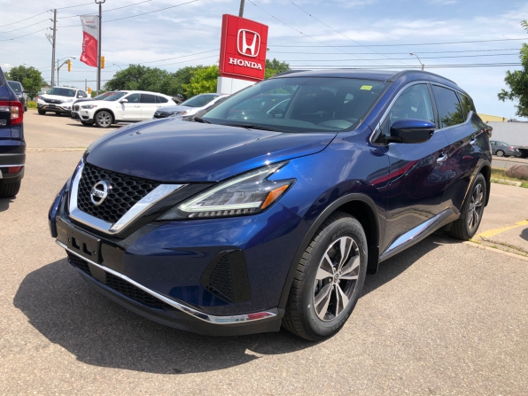 2019 NISSAN MURANO SV ALL WHEEL DRIVE NEW UNIT W SUNROOF