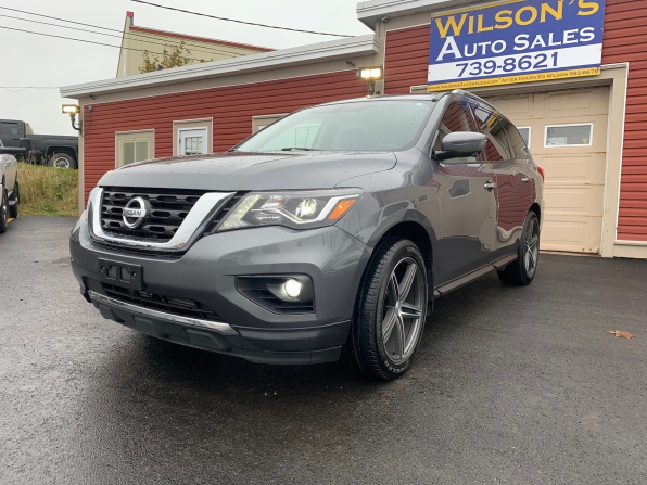 2019 NISSAN PATHFINDER SL 7 PASS FULL LOAD 23K