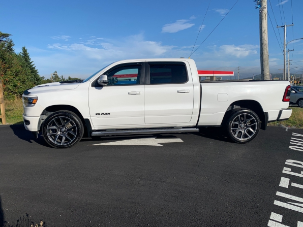 2019 RAM 1500 CREW CAB SPORT CREW PANO ROOF HEATED LEATHER 7K Photo 1