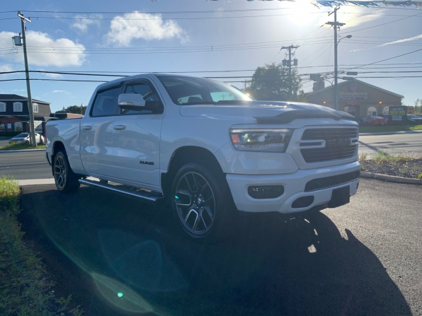 2019 RAM 1500 CREW CAB SPORT CREW PANO ROOF HEATED LEATHER 7K Photo 5