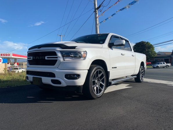 2019 RAM 1500 CREW CAB SPORT CREW PANO ROOF HEATED LEATHER 7K Photo 6