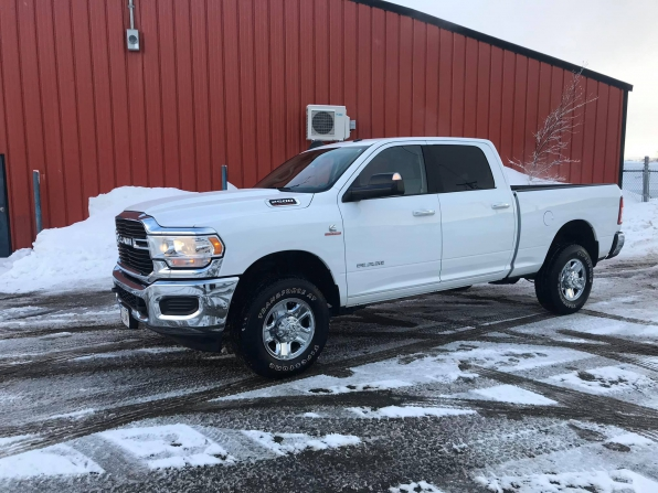 2019 RAM 2500 CREW CAB HEAVY DUTY BIG HORN CUMMINS DIESEL