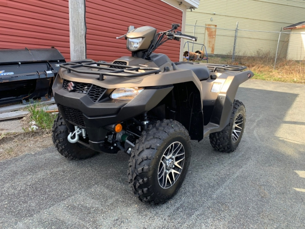 2019 SUZUKI 750 KING QUAD AXI SE 26 k 3 YR WARRANTY