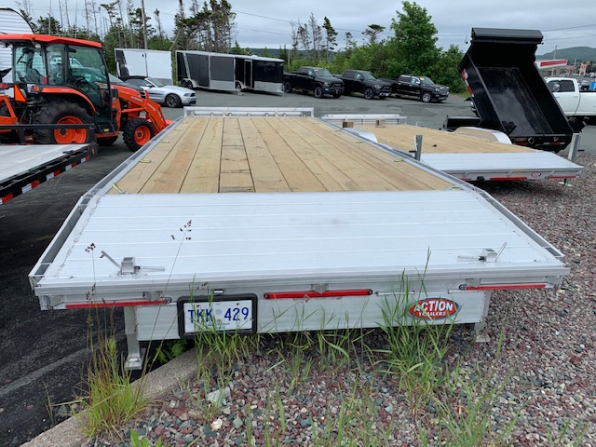 2020 WOLVERINE 7 TON ALUMINUM DECK OVER  Photo 2