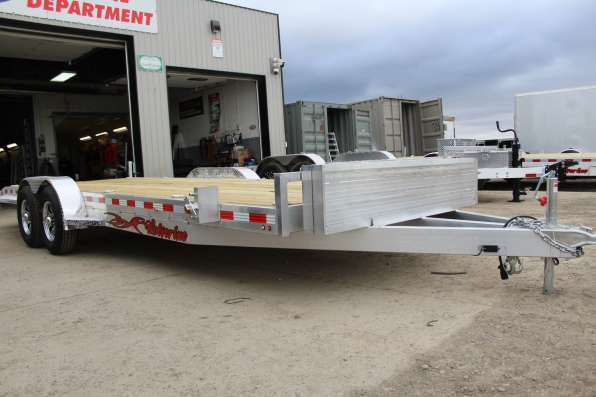 2019 WOLVERINE 7 X 22  5 TON ALL ALUMINUM EQUIPMENT Photo 1