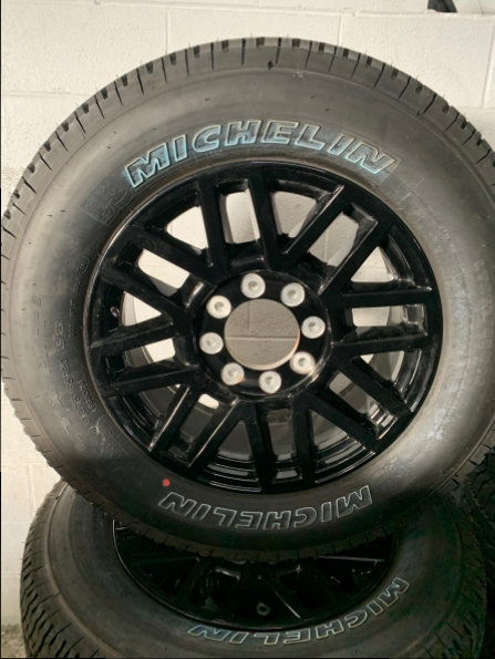 2020 FORD F250 20 INCH  WHEELS TIRES CENTERS
