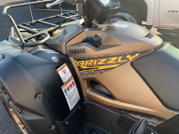 2020 YAMAHA GRIZZLY 700 SPECIAL EDITION 0001 MILES Photo 2
