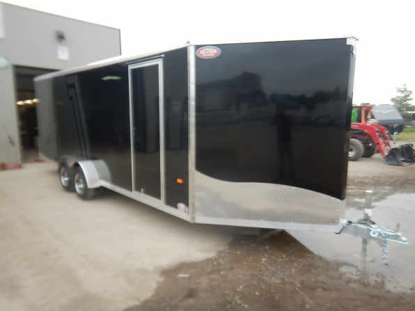 2021 NEO  NCBS 8.5 X 22 ALL ALUMINUM CAR HAULER